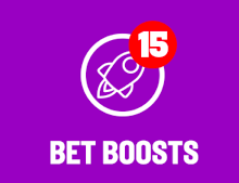 Bet Boost increases your winnings